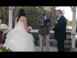 Monica & Chad -  A wedding of family unity at Hatfield Farm