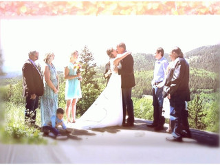 Kananaskis Country wedding, AB
