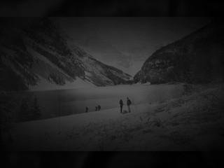 A surprise proposal at Vermillion Lakes, Banff