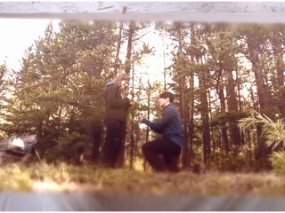Proposal in Canadian Rockies