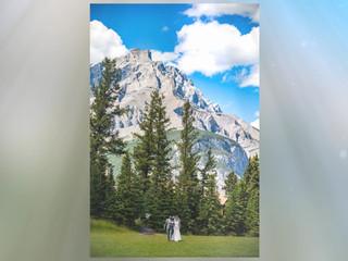 Intimate Banff wedding
