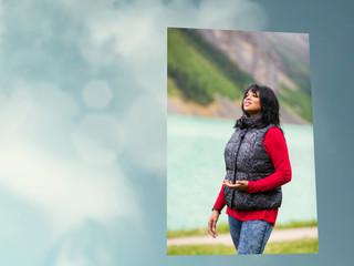 Lake Louise photoshoot