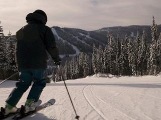 Winter in Sun Peaks