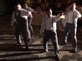 Groomsmen Surprise Dance | Six7Eight