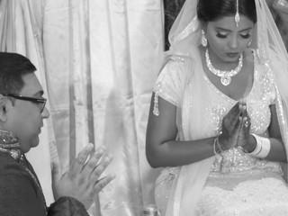 Vanessa & Navin's Hindu rituals for marriage