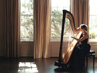 "Secret Life of Daydreams from ""Pride and Prejudice"" performed by Harpist Naomi Jackson"