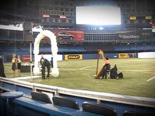 """Canon in D"" at The Rogers Center Bride's Processional"