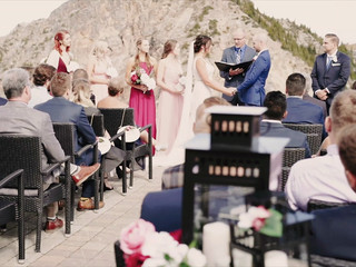 Kaitlyn & Tanner's Kicking Horse Mountain Wedding Film