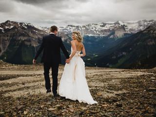 H and C Kicking Horse Mountain Resort Wedding