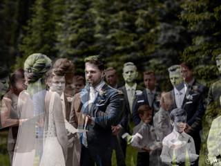 T & J Island Lake Lodge Wedding in Fernie, BC. June, 2019.