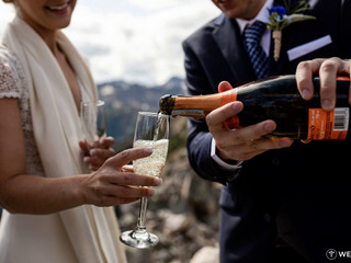A & K Kicking Horse Mountain Resort Wedding in Golden, BC. August, 2019.