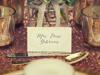 Styled shoot behind the scenes
