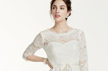 38 Short Wedding Dresses for Every Style of Bride