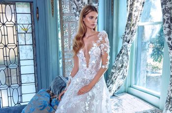 50 Floral Wedding Dresses for Every Style of Bride