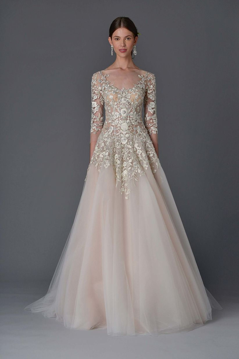 22 Gold Wedding Dresses That\'ll Make You Shine on Your Big Day