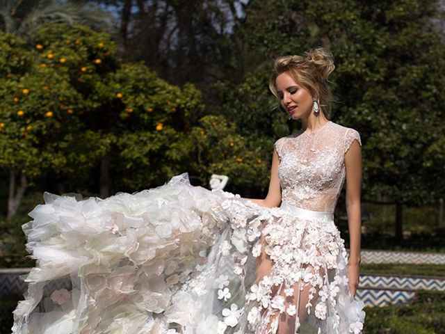 40 Sheer Wedding Dresses for Every Style of Bride