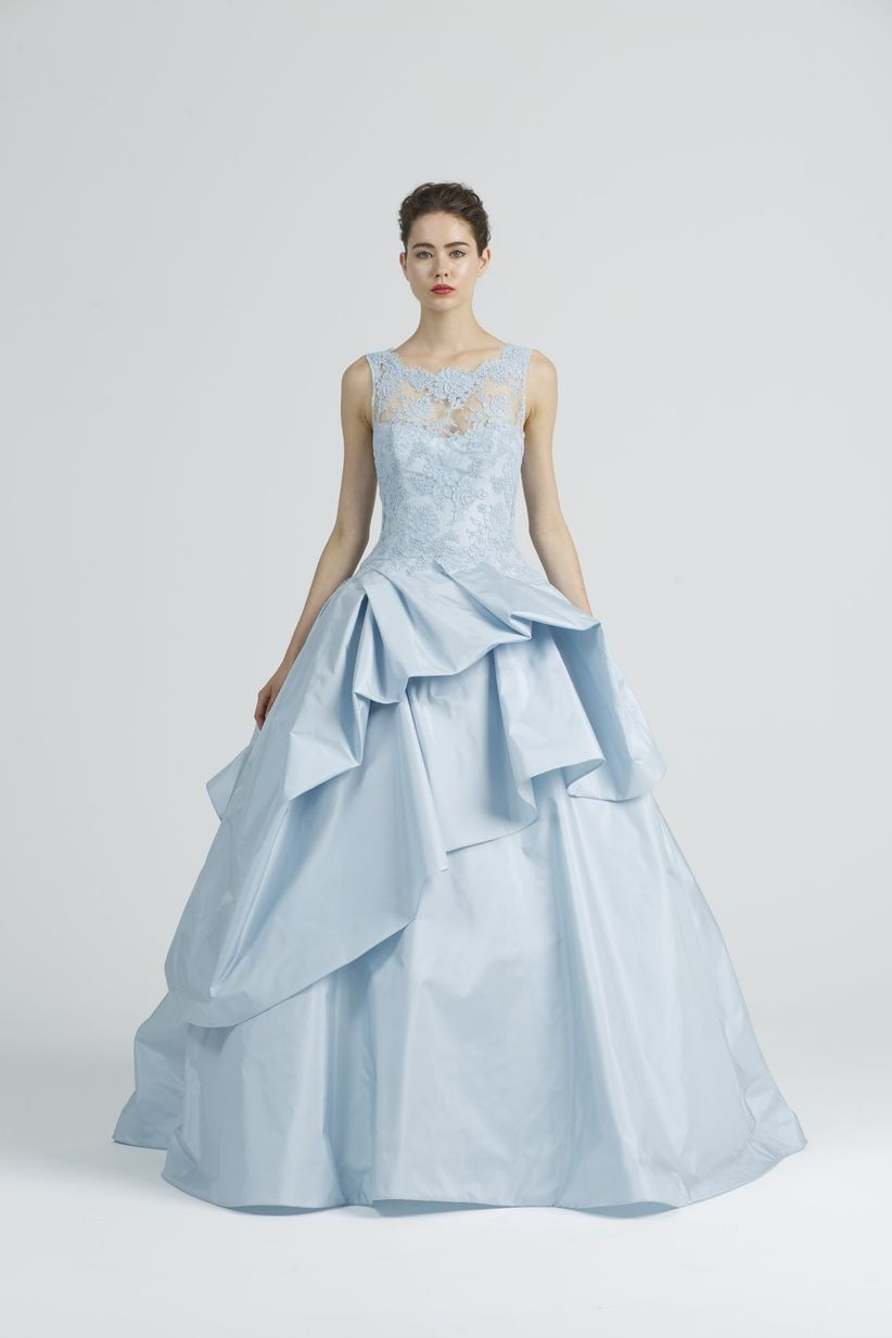 16 Blue Wedding Dresses That\'d Put Cinderella to Shame