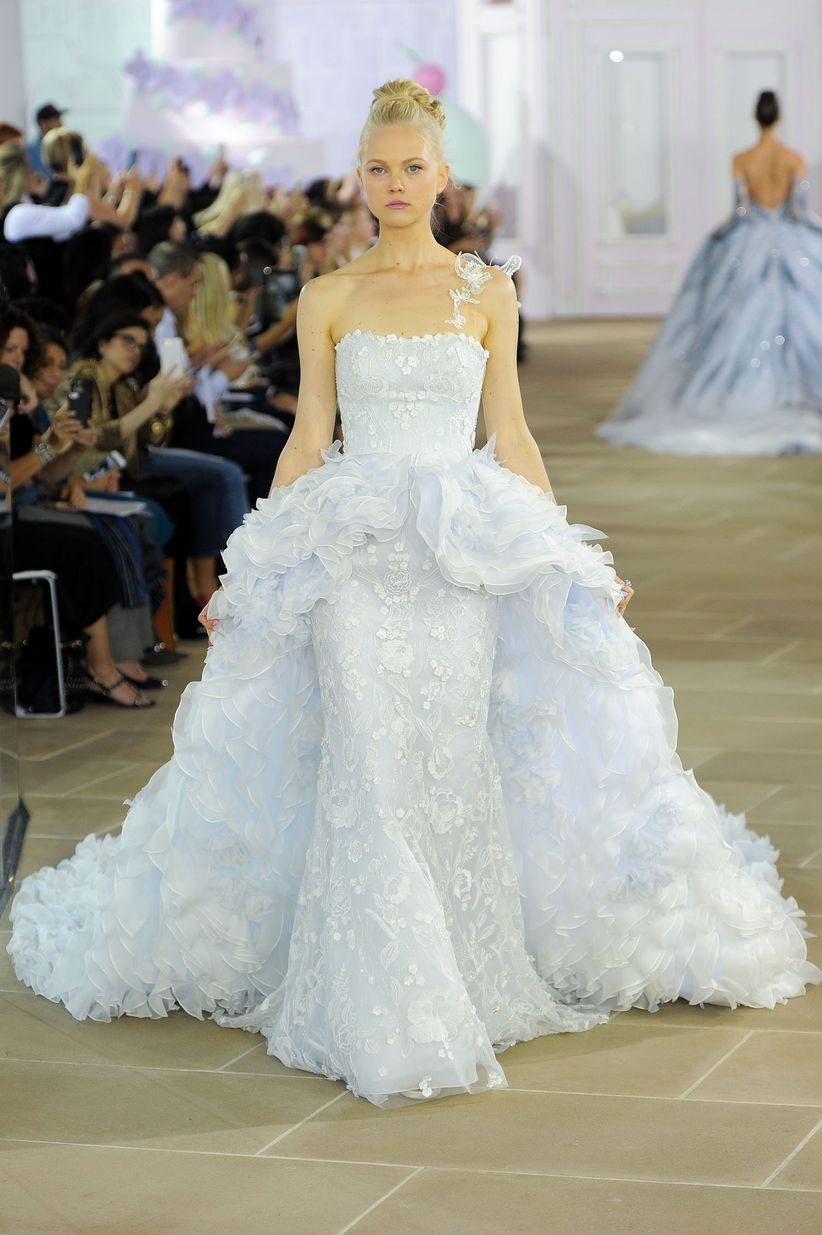 16 blue wedding dresses thatd put cinderella to shame fleur by ines di santo ombrellifo Choice Image