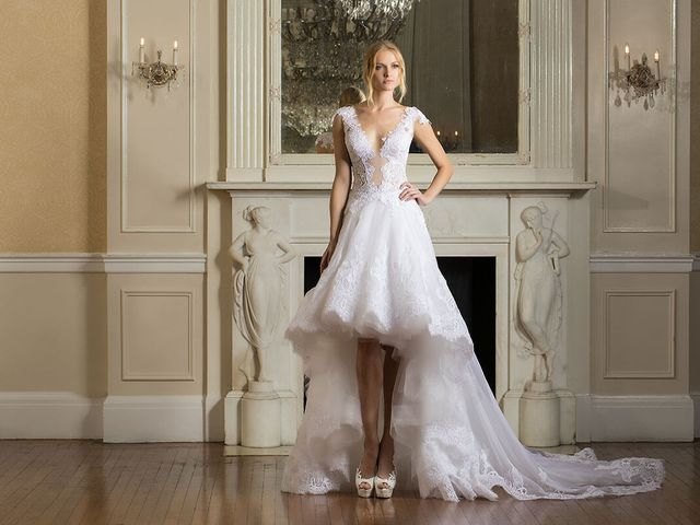 19 High Low Wedding Dresses for Every Style of Bride
