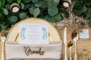 5 Things to Consider When Making Your Wedding Place Cards (Or Escort Cards)