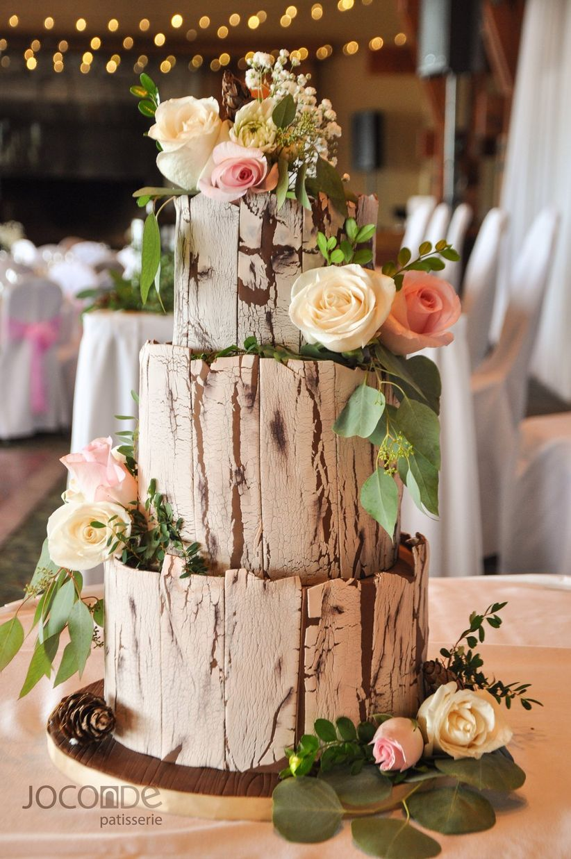 12 Rustic Wedding Cake Designs We Re Totally Obsessed With