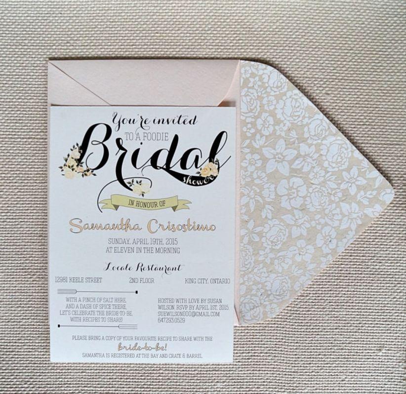 Cute Wedding Invitation Wording Samples: Bridal Shower Invitation Wording Tips And Ideas