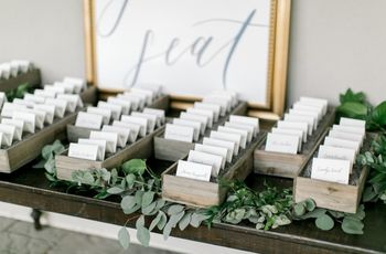 15 Creative Ways to Display Wedding Escort Cards