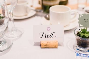 Escort Cards vs. Place Cards