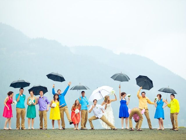 How to Prepare for Bad Weather on Your Wedding Day