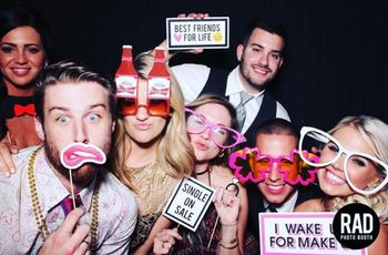 5 Photobooth Props You Totally Need for Your Wedding Reception