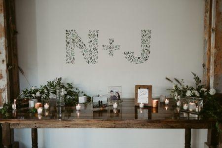 12 Creative Ways to Show Off Your Wedding Monogram