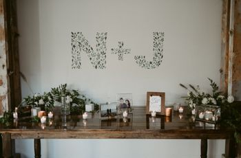 12 Creative Ways to Show Off Your Wedding Monogram