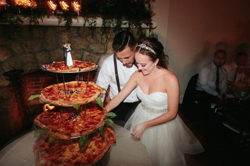 Pizza Wedding Cake Alternative