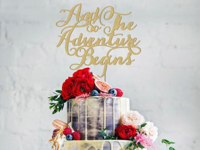 32 Unique Wedding Cake Topper Ideas