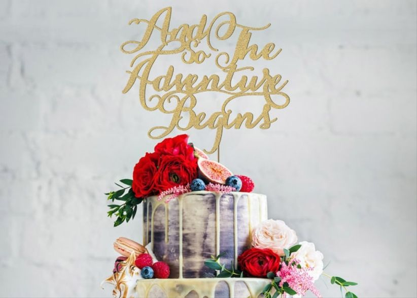 Unique Wedding Ideas.32 Unique Wedding Cake Topper Ideas