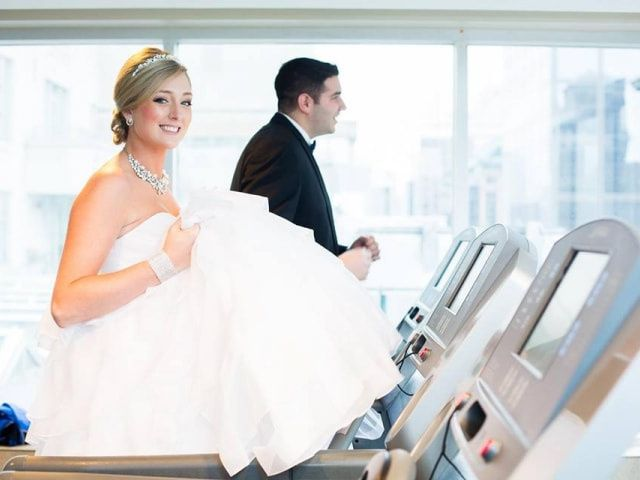 How to Get in Shape For Your Wedding