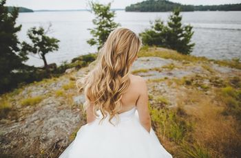 6 Swoon-worthy Wedding Day Hairstyles