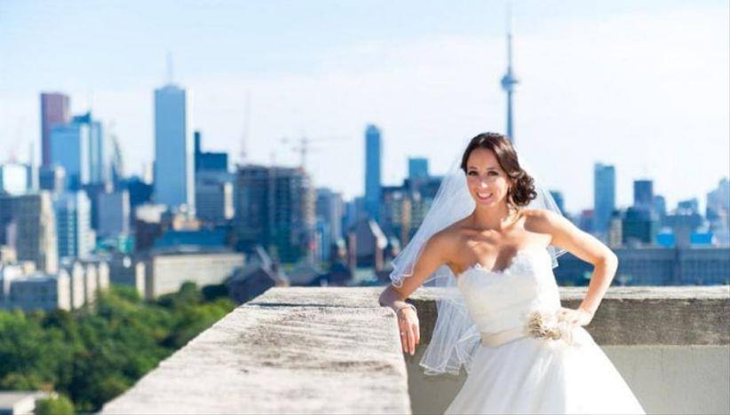 Park Hyatt Toronto rooftop wedding venue