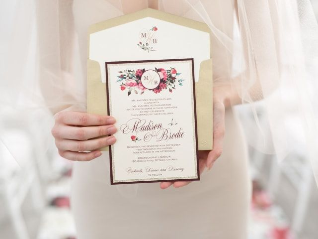 How to Create a Wedding Monogram