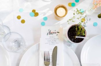 How to Pick Your Wedding Menu