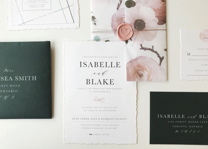 3f27a83fb4 What to Include in a Wedding Invitation