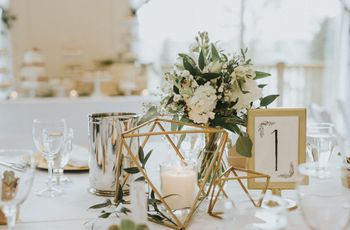11 Creative Ways to Display Your Wedding Table Numbers or Names