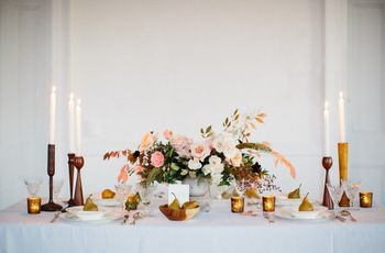 11 Table Centerpiece Ideas for Every Style of Wedding