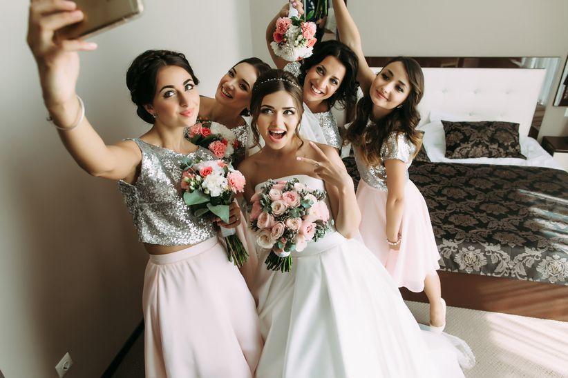 Confirm. bride getting ready think