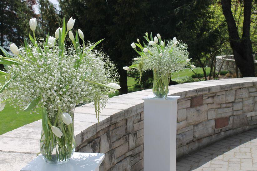 Tulip floral arrangements