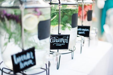 5 DIY Drink Stations to Have at Your Wedding
