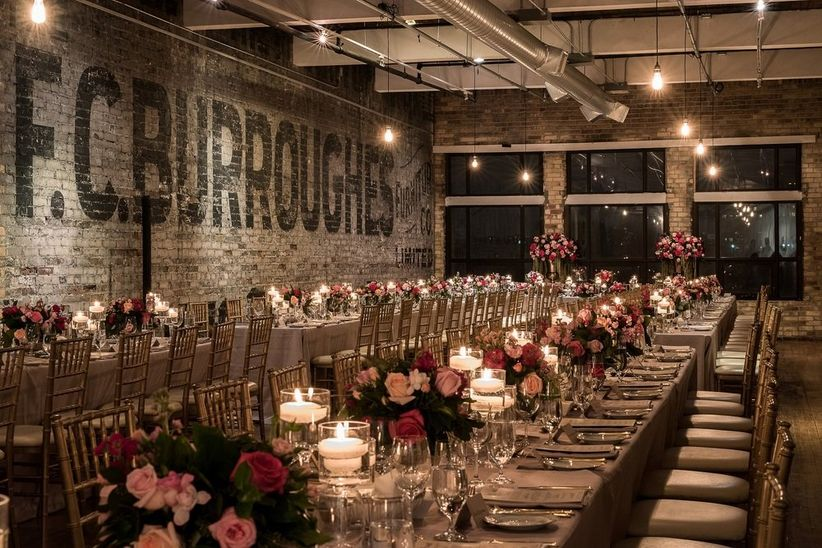 The Burroughes Building loft wedding venue