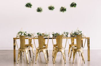 How to Rock the Geometric Wedding Decor Trend