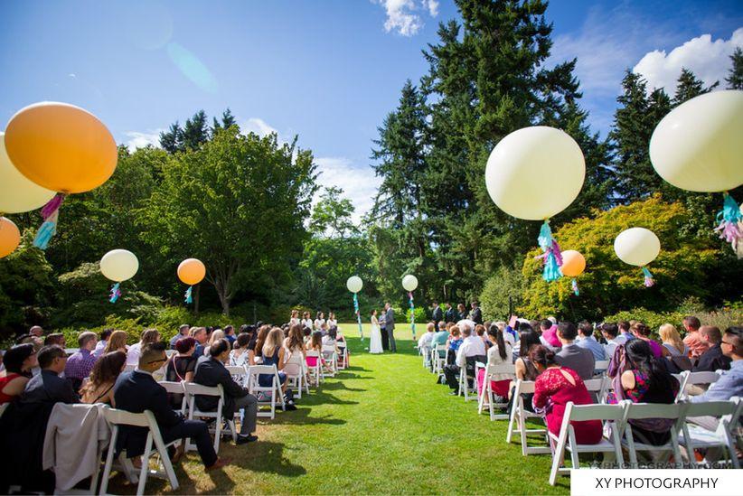 VanDusen Botanical Garden - Vancouver garden Wedding Venue
