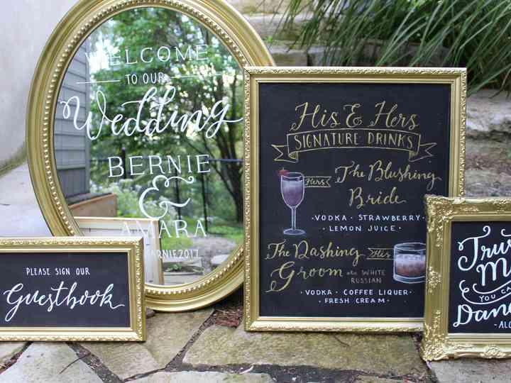 10 Creative Ways to Use Wedding Chalkboard Signs